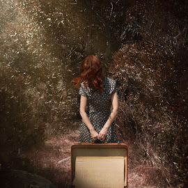 My Emptiness on Display by Carrie Lopez - Digital Art People