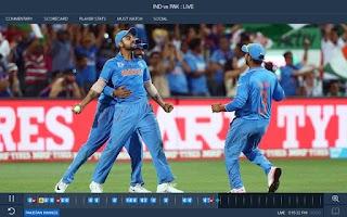 Screenshot of Star Sports Live Cricket Score