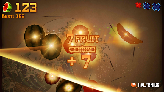 Fruit Ninja Free apk screenshot