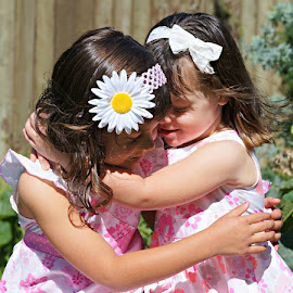 SISTERLY LOVE by Kerry Cooper - Babies & Children Child Portraits