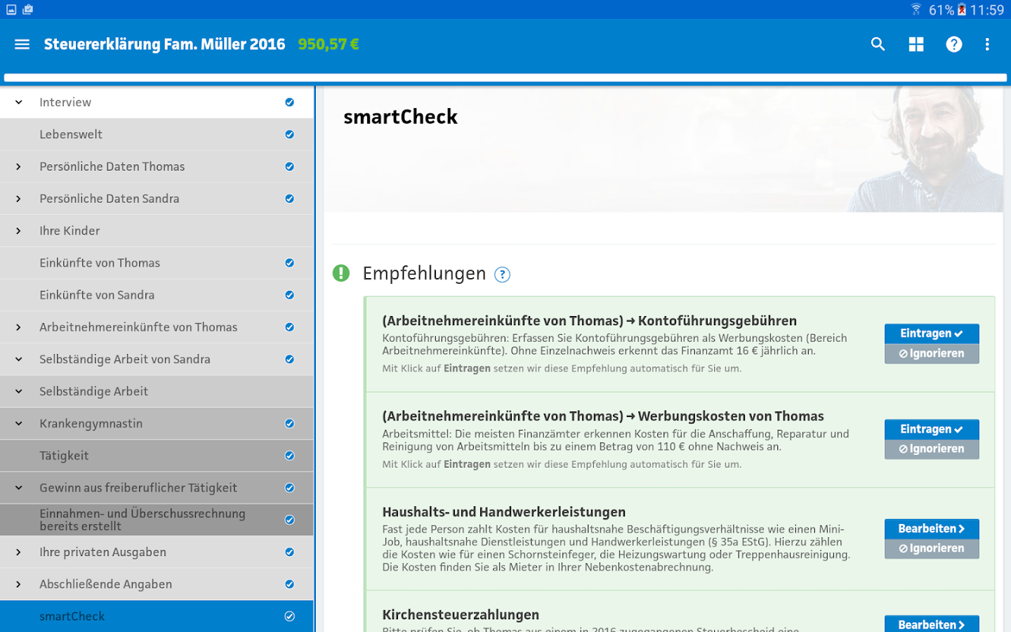 Smartsteuer 2017 android apps download
