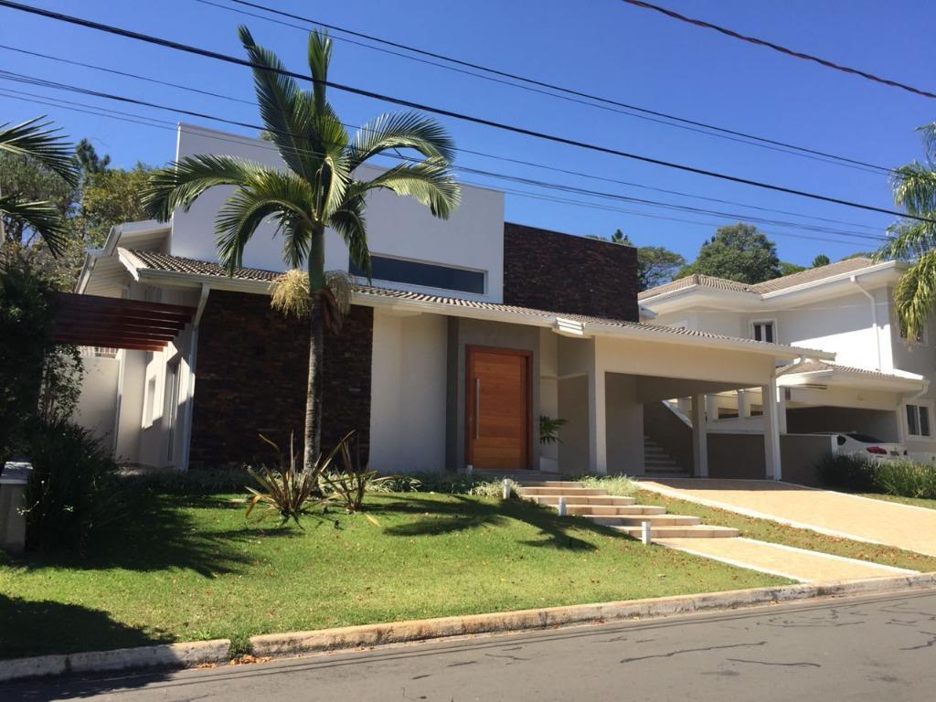 Casa com 5 dormitórios à venda, 390 m² por R$ 1.800.000 - Condomínio Jardim Paulista I - Vinhedo/SP