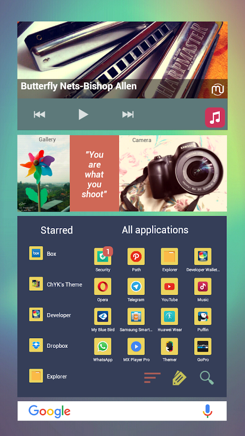 Scrolledge for Total Launcher Screenshot 1
