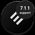 App Swift Black Substratum Theme APK for Kindle