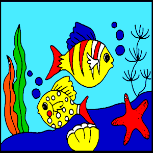 Download Underwater Fish Coloring For PC Windows and Mac