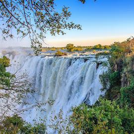 Victoria Falls, Zambia by Simon Shee - Landscapes Waterscapes ( national park, zambezi river, waterfall, victoria falls, zambia, robin pope safaris, landscape, africa )