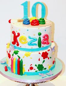Artist Birthday Cake