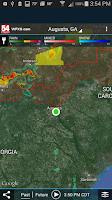 Screenshot of WFXG First Alert Weather