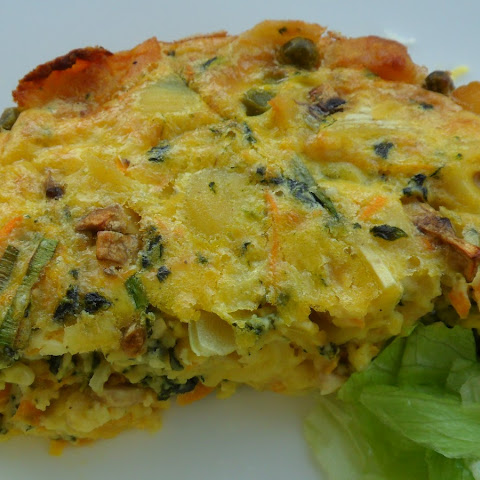 Impossible Quiche (self-crusting)