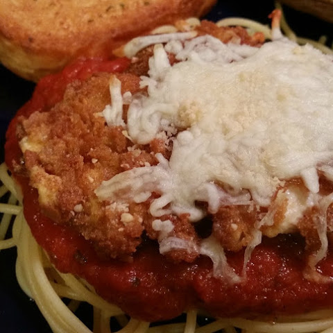 Chicken Parmesan with Spicy Ragu Pasta Sauce