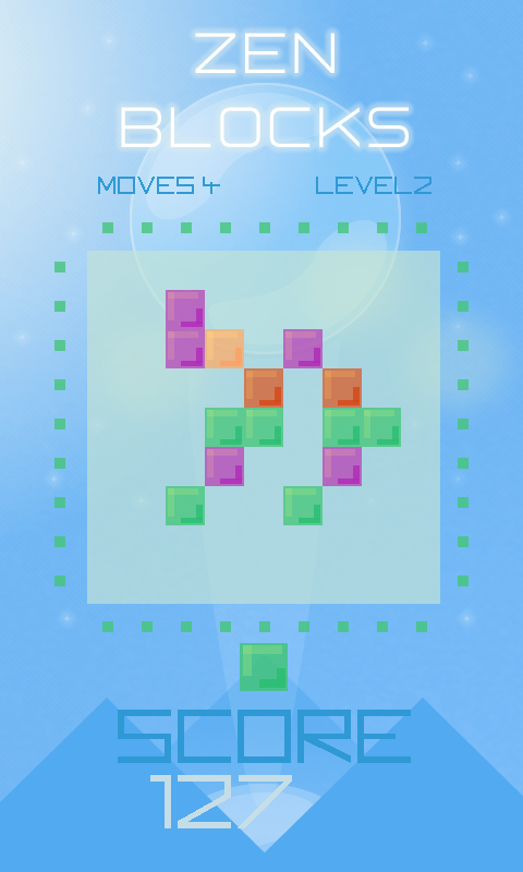 Zen Blocks: Pro Puzzle Edition Screenshot