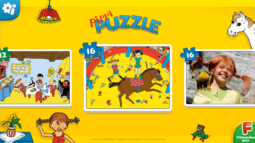 Pippi Puzzle - screenshot