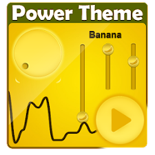 Banana Poweramp Skin