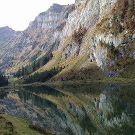 by Serguei Ouklonski - Landscapes Mountains & Hills ( water, talalpsee, mountain, reflections, lake )
