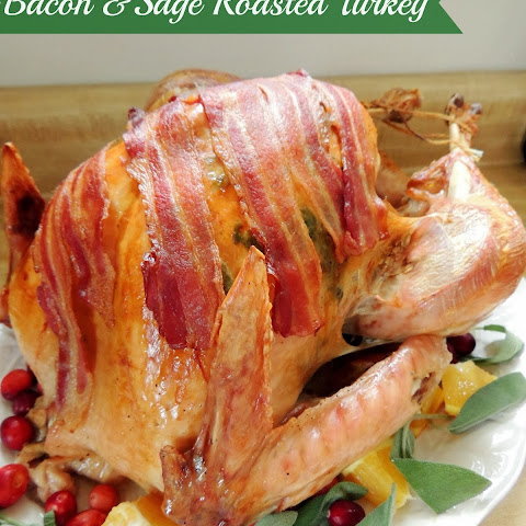 Bacon & Sage Roasted Turkey