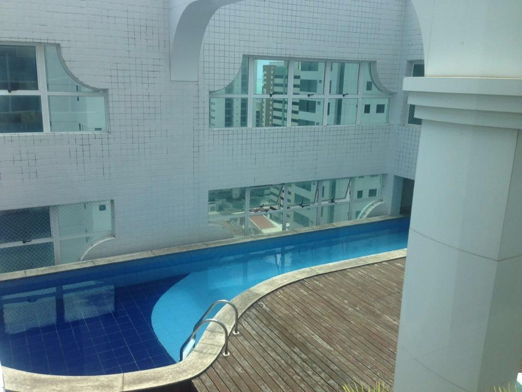 Apartamento residencial para locação, Tambaú, João Pessoa - AP5263.