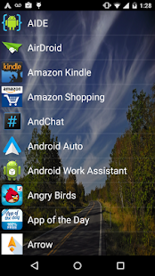 List Launcher - screenshot