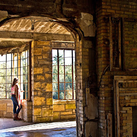 Abandoned And Forgotten by Reva Fuhrman - Buildings & Architecture Decaying & Abandoned ( architecture abandoned historical portrait indoor )