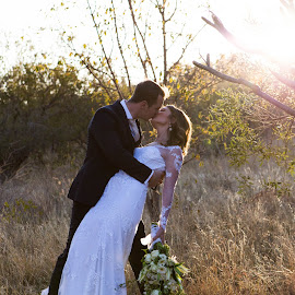 you may kiss the bride by Leani du Plessis - Wedding Bride & Groom