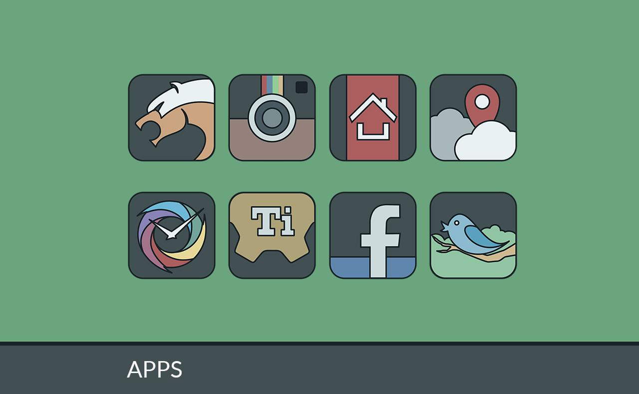 IMMATERIALIS ICON PACK Screenshot 2