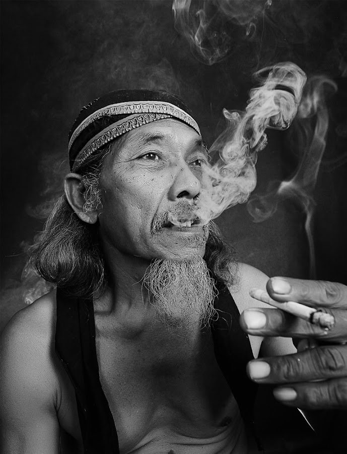 by Achmad Syamsu Hidayat - People Portraits of Men ( black white, men, people, portrait )