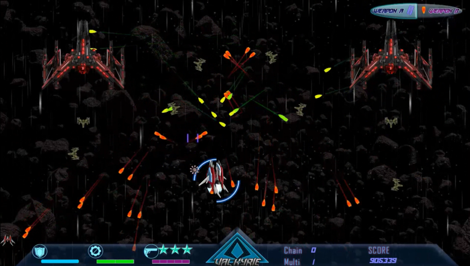 Beyond Black Space: Valkyrie Screenshot 4