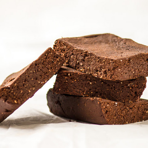 Raw Protein Brownies
