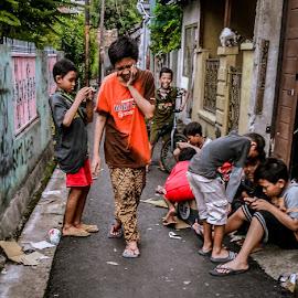 by Giat Widhiawan - Babies & Children Children Candids