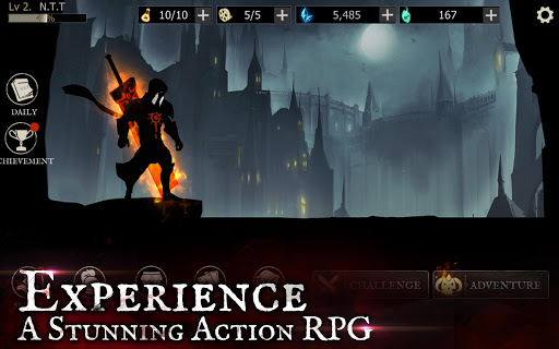 Shadow of Death: Dark Knight - Stickman Fighting screenshot 10