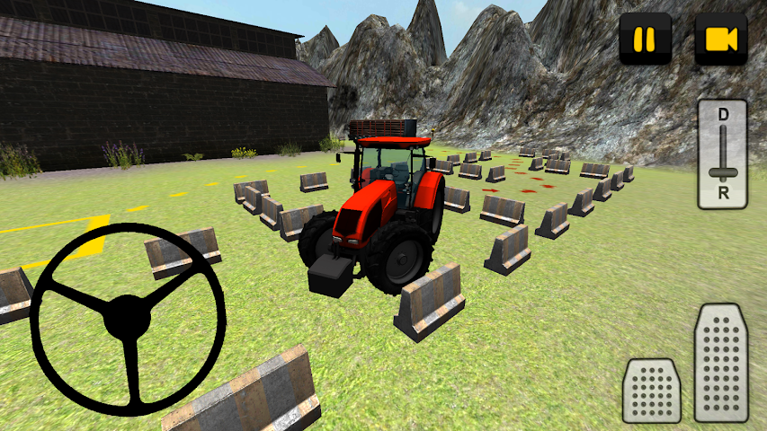android Tractor 3D: Log Transport Screenshot 1