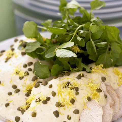 Poached Turkey with Tuna Mayonnaise