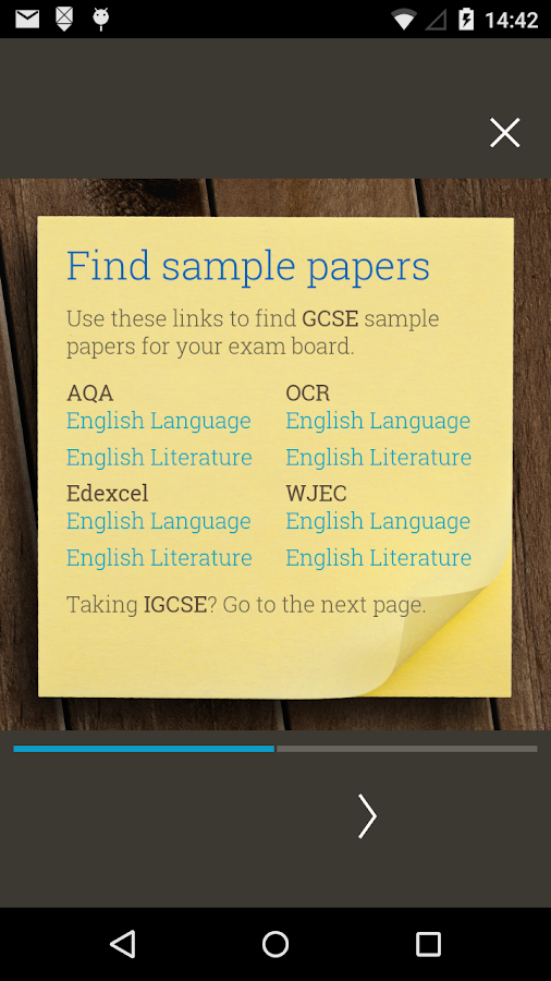 GCSE English Revision Guide Screenshot 5