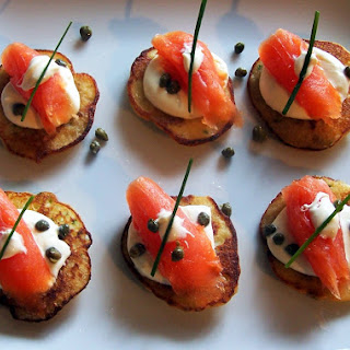Chive Blinis Smoked Salmon Recipes