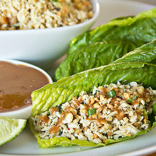 Beef Lettuce Wraps With Peanut Sauce Recipes