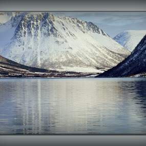 hognfjorden by Benny Høynes - Landscapes Weather ( water, mountain, north, norway, fjord )