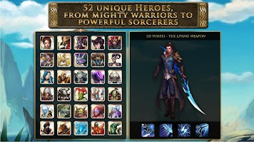 Screenshot of Heroes of Order & Chaos
