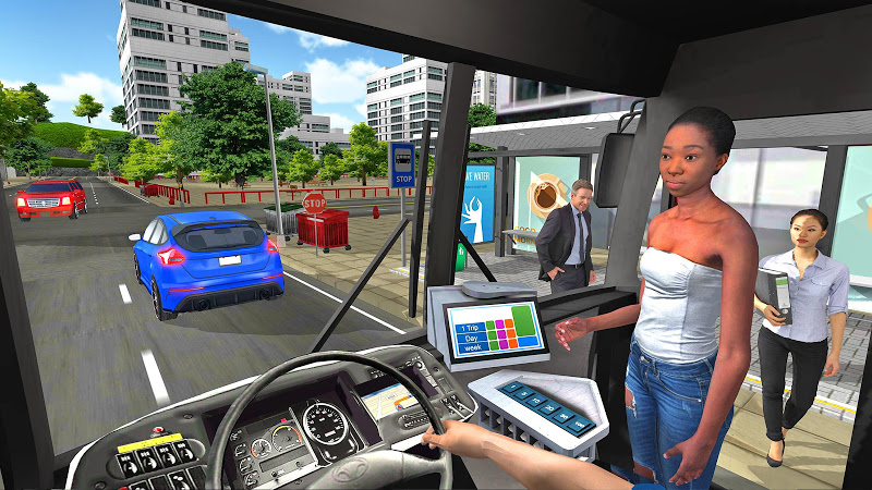 Bus Simulator 2018: City Driving Screenshot 4