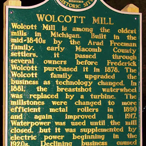 Wolcott Mill is among the oldest mills in Michigan. Built in the mid-1840s by the Arad Freeman family, early Macomb County settlers, it passed through several owners before Frederick Wolcott ...
