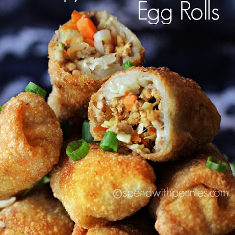 Crispy Homemade Egg Rolls!