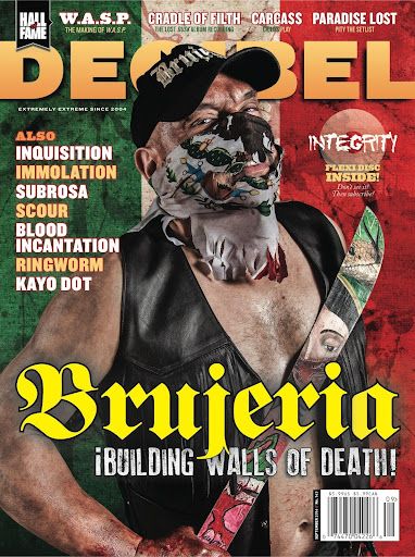 Decibel Magazine - screenshot
