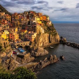 Cinque Terre by Pascal Hubert - City,  Street & Park  Vistas