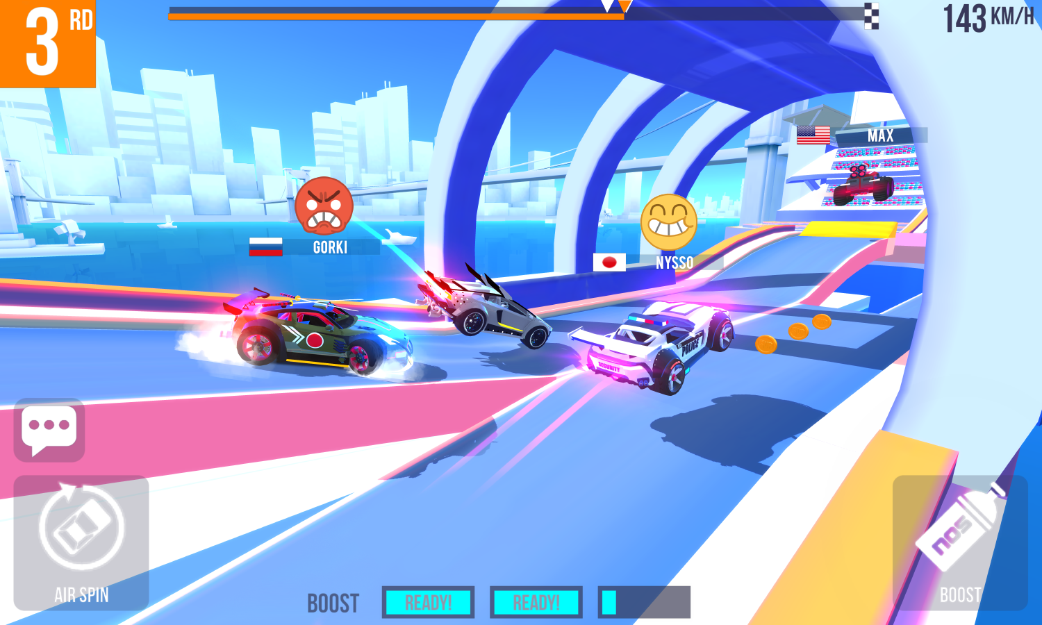 SUP Multiplayer Racing (Unreleased) Screenshot 6