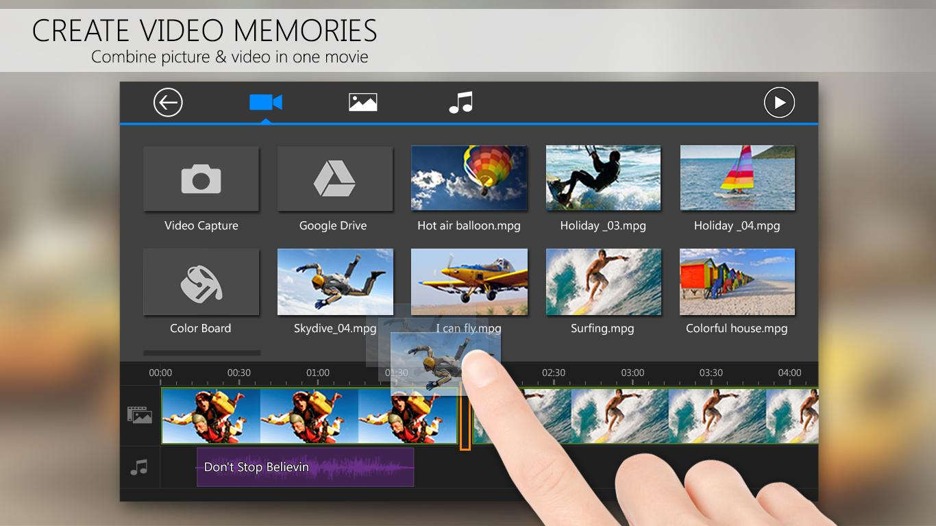PowerDirector Video Editor App: 4K, Slow Mo & More Screenshot 3