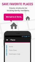 Screenshot of T-Mobile FamilyWhere