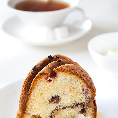 Date, Walnut, Raisin, & Red Currant Bundt Cake