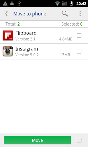 move app to sdcard pro screenshot 4