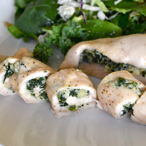 Spinach Artichoke Stuffed Chicken