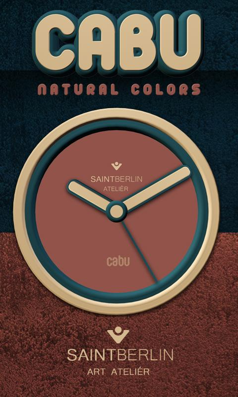 Cabu Clock Widget Screenshot 0