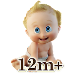 Baby Flashcards: 12+ Months Icon