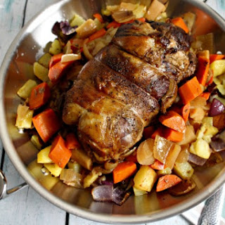 Slow Cooked Leg Of Lamb in the Slow Cooker
